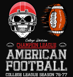 Football sport typography t-shirt graphics vector