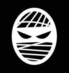 mummy icon design vector image
