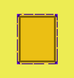 Pixel icon in flat style sandwich vector