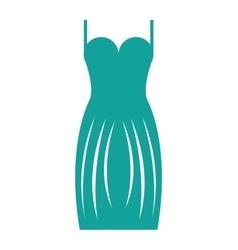 Suit lady elegant icon vector