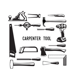 tool carpenter vector image