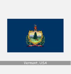 vermont usa state flag vt usa vector image