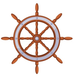 Wood wheel vector