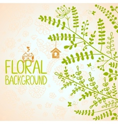 branches background vector image