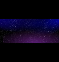astrology horizontal star universe background vector image