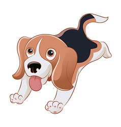 Beagle vector image vector image