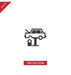car tire change icon vector image