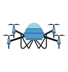 Drone technology unmanned aerial vehicle icon vector