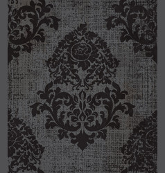 elegant baroque pattern background rich vector image
