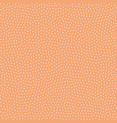 hand drawn geometric pattern in autumn colours vector image