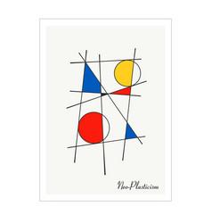 modern poster artwork inspired postmodern vector image