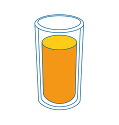 Refreshing fruit juice vector