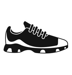 Sport sneakers icon simple style vector