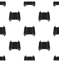 Tanakh icon in black style isolated on white vector