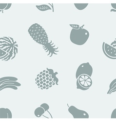 Pattern of fruit vector image vector image