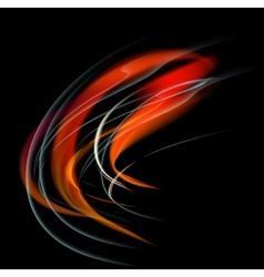 Burn flame vector