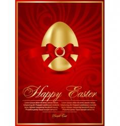 Easter eggs illustration vector image