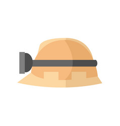 hardhat worker safety helmet graphic vector image