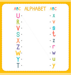 Join each capital letter with the lowercase vector