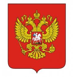Russian emblem vector