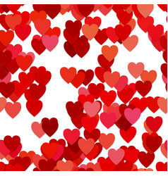 Seamless valentines day background pattern - vector