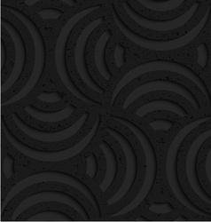 Textured black plastic striped pin will vector