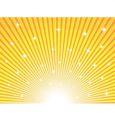 Abstract sunny background vector image