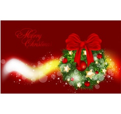 Golden background for Xmas design vector image
