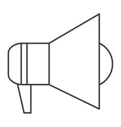 Megaphone pictogram icon vector