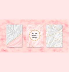 Minimalist marble texture design vector
