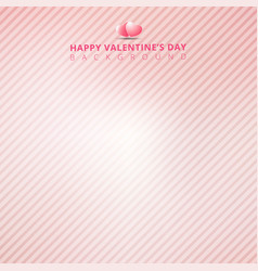 pink background with striped diagonal lines vector image