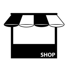 shop 01 vector image