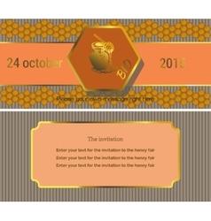 The invitation 6 vector