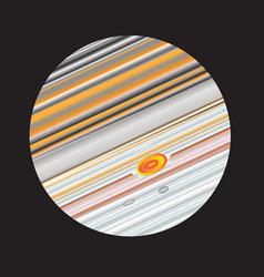 The planet jupiter vector