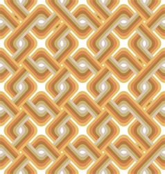 vintage pattern with cubes vector image