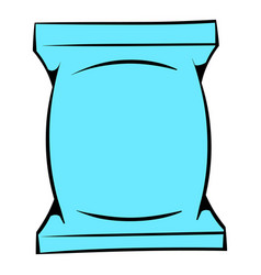 Wet wipes package icon icon cartoon vector