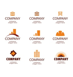 Construction and real estate logo vector