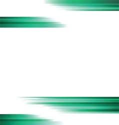 Straight green lines background vector image
