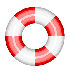lifebuoy help rescue save ship sos ring buoy vector image