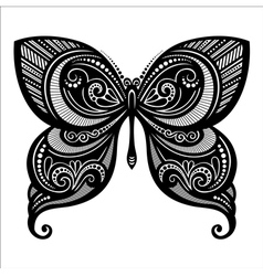 Beautiful Butterfly Exotic Insect vector image