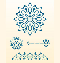 mandala for laser cut vector image
