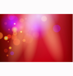 red rays light holiday background vector image