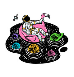 Relax in universe pool vector