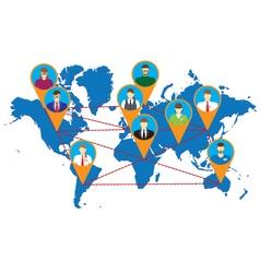 Social Networks Social Media vector image