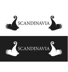 symbol of scandinavia vector image
