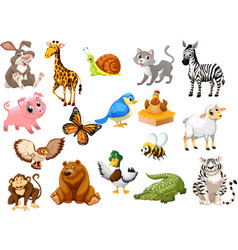 animals set1 vector image