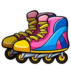 Rollerskates vector image