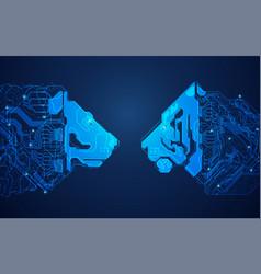 two kings vector image