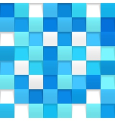 Abstract square mosaic vector image