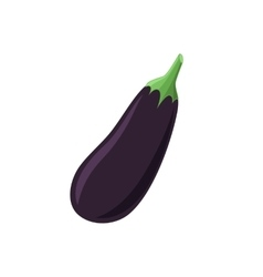 Aubergine icon isolated on white background vector